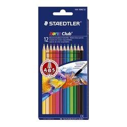 Staedtler crayon aquarelle noris club, étui carton de 12