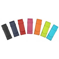 Alassio schreibgeräte-etui, für 2 schreibgeräte, hellgrün