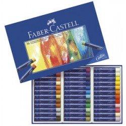 Faber-castell pastels à l'huile studio quality, étui de 12