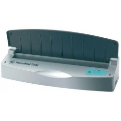 Gbc thermorelieur thermabind t200, argent/anthracite,