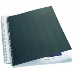 Couverture gbc pour reliure linenweave, format a4, 250 g/m2,