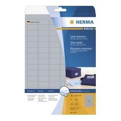 Herma étiquettes argentées special, 30,5 x 16,9 mm, argent
