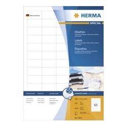 Herma étiquettes jet d'encre special, 66 x 33,8 mm, blanc