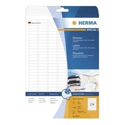 Herma étiquettes inkprint special pour jet d'encre, blanc,