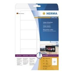 Herma étiquettes pour cassettes vidéo special, 147,3 x 20 mm