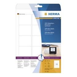 Herma etiquettes pour disquettes-zip special, 59 x 50 mm,