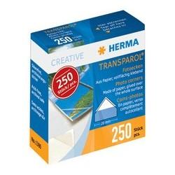 Herma transparol coins photos, contenu: 250 pièces