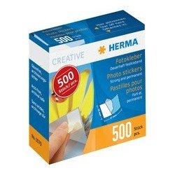 Herma pastilles pour photos dans un distributeur en carton,