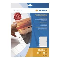 Herma pochettes pour photos fotophan, format a4, pour photos