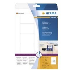 """Herma étiquettes pour disquettes 3,5"""" special, 70 x 50,8 mm,"""