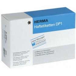 Herma étiquettes adhésives dp1, 32 mm de diamètre, blanc