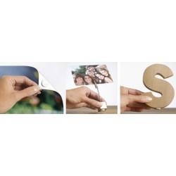 Herma pastille adhésive, blanc, amovible, réutilisable,