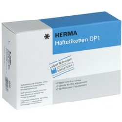 Herma étiquettes adhésives dp1, 12x30 mm, blanc,