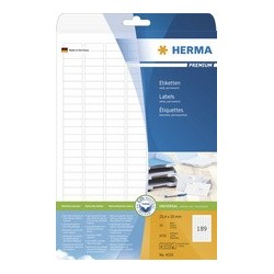 Herma étiquettes universelles premium, 105 x 148 mm, blanc