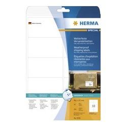 Herma etiquette d'expédition special résistantes 99,1 x 93,1