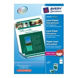 Avery zweckform  papier photo colour laser, a4, 170 g/m2