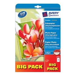 Avery zweckform big pack papier photo pour imprimante
