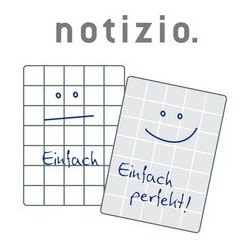 "Avery zweckform carnet pour notes ""notizio"", a5, quadrillé,"