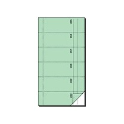 "Sigel bloc de formulaires "" carnet de bons"", 105 x 200 mm"