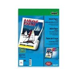 Sigel papier jet d'encre, format a4, 200 g/m2, extra blanc