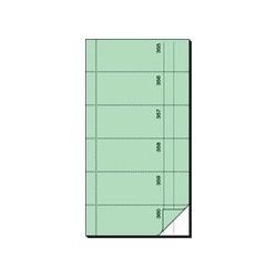 """Sigel bloc de formulaires """"carnet de bons"""", 105 x 200 mm, ac"""