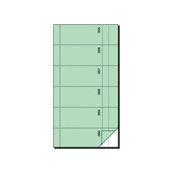 "Sigel bloc de formulaires ""carnet de bons"", 105 x 200 mm (LOT DE 5)"