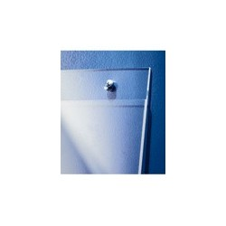 Sigel porte-ffiches, format a4 oblong, en acrylique