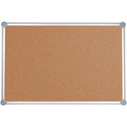 Maul tableau de liège 2000, (b)1.000 x (h).1500 mm,  gris