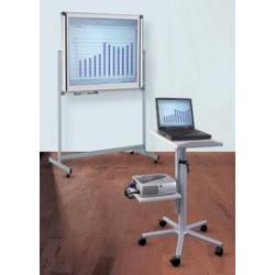 Maul table pour vidéoprojecteur professionnel, gris