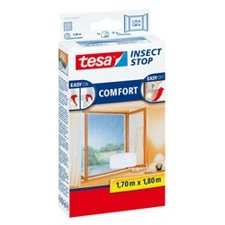 Tesa moustiquaire comfort pour fenêtre, 1,70 m x 1,80 m