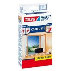 Tesa moustiquaire comfort pour les fenêtres, blanc