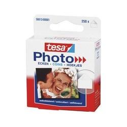 Tesa coins pour photos photo, transparent, autocollant