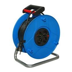 Brennenstuhl enrouleur standard s, tambour: bleu,câble: 25 m
