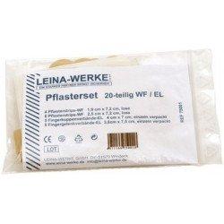 Leina set de pansement 120 pièces, élastique/imperméable eau