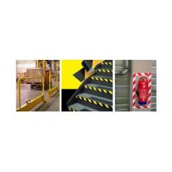 3m ruban adhésif pvc souple 767i, noir/jaune