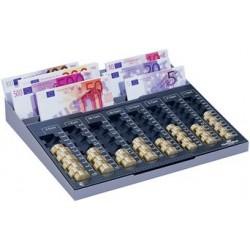 Durable casier à monnaie euroboard xl,(l)328 x (p)286 x (h)