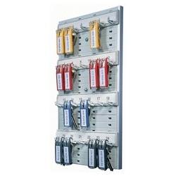 Durable armoire à clés key board 24, pour 24 clés, gris,