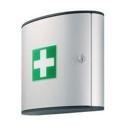 Durable first aid box m, design first aid box, argenté