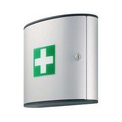 Durable first aid set m, design first ais set, argenté