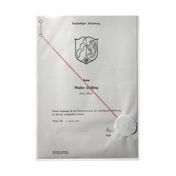 Durable pochette de protection, en pp, a7, transparent