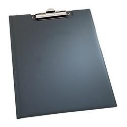 Durable porte-blocs, format a5, noir, en pvc souple