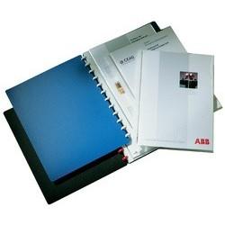 Durable protège-documents duralook easy, avec 20 pochettes