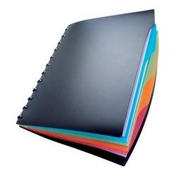 Durable protège-documents duralook style,  a4, avec 20