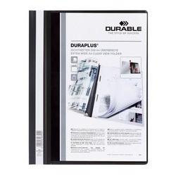 Durable chemise à lamelles duraplus, format a4, assortie, (LOT DE 25)