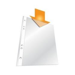 Durable pochettes perforées, a5, pp, transparent, 0,06 mm