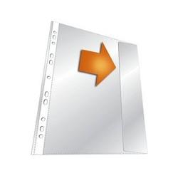 Durable pochettes perforées, a4, pp, transparent, 0,135 mm