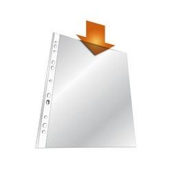 Durable pochettes perforées, format a4, pp, transparentes