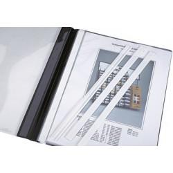 Durable baguettes de couverture, pour format a4, blanc