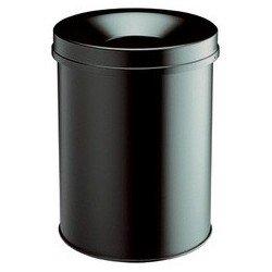 Durable corbeille à papier safe rond 65, 60 litres, noir
