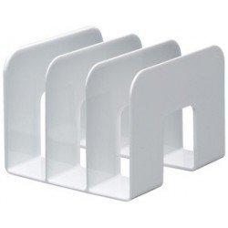 Durable porte-revues trend, plastique, 3 compartiments